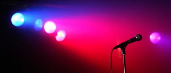lone-microphone